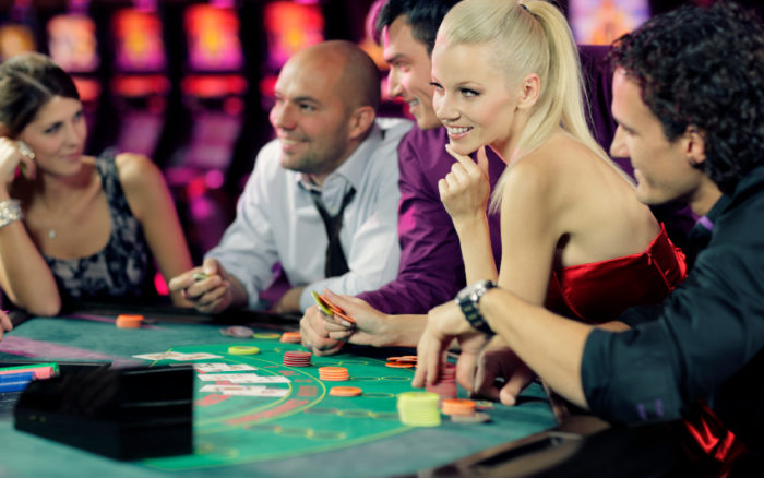 Playing at online gambling Casino